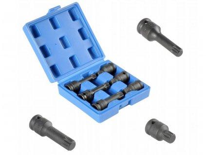 Rázové úderové klíče 1/2' M14-M18 sada 6ks nástrčných hlavic VW GOLF SHARAN LT TRANSPORTER
