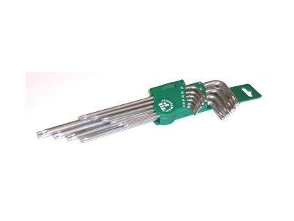 H12S110S  Klíče TORX dlouhé úhlové sada 10ks. JONNESWAY