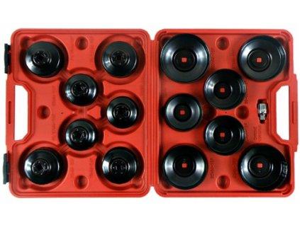 Klíče na olejový filtr, sada 15 klíčů