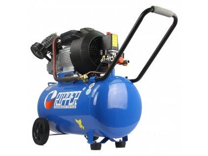 Olejový kompresor 50L, dvouválcový 250 L MIN, 8 BAR, 2,2 kW RIPPER
