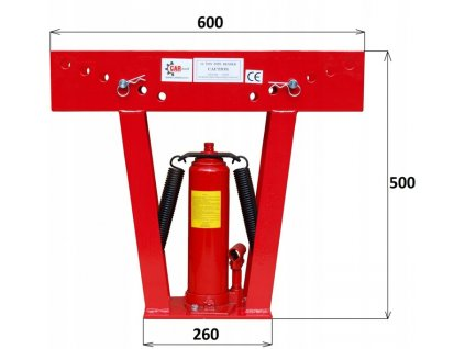 Hydraulická ohýbačka trubek , 12T 6 profilů