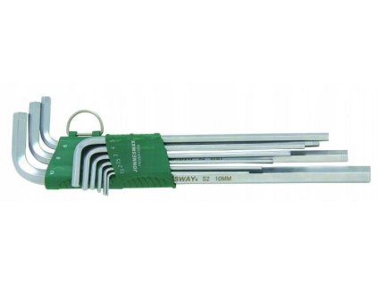 Dlouhé klíče imbus hex 9 ks JONNESWAY