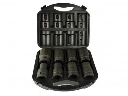 Sada dlouhých hlavic,6-hranné úderové nástrčné hlavice 1 cal  19-41mm G10074