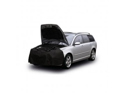 Ochranný potah na automobil, dílenský kryt na motor
