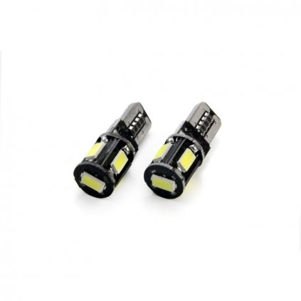 led ziarovky canbus 5smd 5730 t10 w5w white