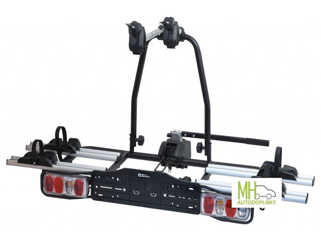 Nosič kol na tažné zařízení E-BIKE - pro 2 kola