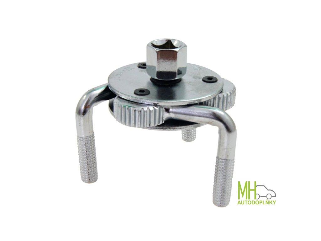 Klíč na olejový filtr tříramenný