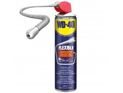 multifunkcni olej wd 40 s integrovanou vyklopnou aplikacni trubickou flexible 600 ml
