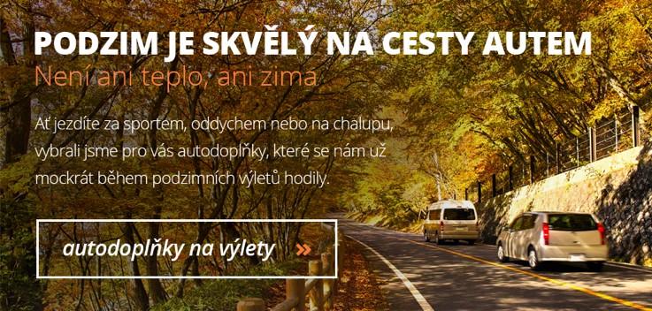 Podzim je idální na cesty autem. Není ani teplo, ani zima