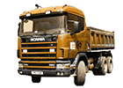 Gumové koberce Scania 114L