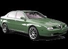 Boční lišty dveří Alfa Romeo 166