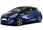 Plachty na auto Peugeot 208