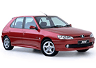 Vana do kufru Peugeot 306