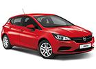 Boční lišty dveří Opel Astra