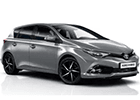 Boční lišty dveří Toyota Auris