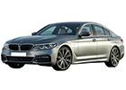 Boční lišty dveří BMW 5
