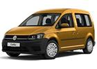 Textilní autokoberce VW Caddy