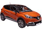 Prahové lišty Renault Captur