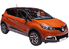 Vana do kufru Renault Captur