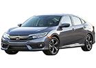 Boční lišty dveří Honda Civic