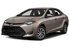 Boční lišty dveří Toyota Corolla