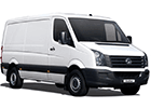 Ofuky oken VW Crafter