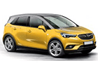 Kryt prahu pátých dveří Opel Crossland X