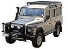 Ofuky oken Land Rover Defender