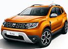 Boční lišty dveří Dacia Duster