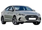 Boční lišty dveří Hyundai Elantra