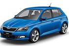 Boční lišty dveří Škoda Fabia