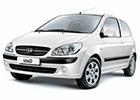 Textilní autokoberce Hyundai Getz