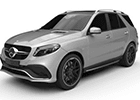 Vana do kufru Mercedes GLE