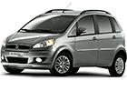 Gumové koberce Fiat Idea