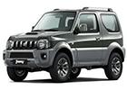 Boční lišty dveří Suzuki Jimny