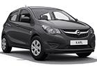 Boční lišty dveří Opel Karl