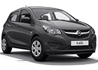 Prahové lišty Opel Karl
