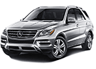 Střešní nosič Mercedes ML