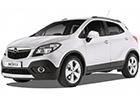 Boční lišty dveří Opel Mokka