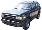 Střešní nosič Mazda Navajo