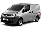 Vana do kufru Nissan NV200