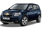 Boční lišty dveří Chevrolet Orlando