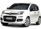 Boční lišty dveří Fiat Panda