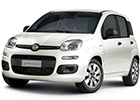 Vana do kufru Fiat Panda