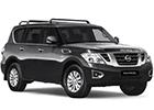 Prahové lišty Nissan Patrol
