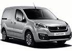 Kryt prahu pátých dveří Peugeot Partner