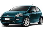 Boční lišty dveří Fiat Punto