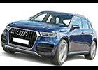 Textilní autokoberce Audi Q7