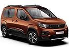 Textilní autokoberce Peugeot Rifter