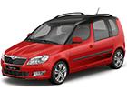 Textilní autokoberce Škoda Roomster